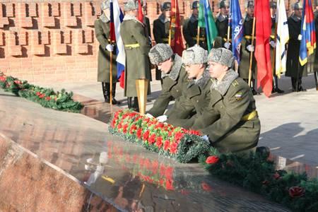 Митинг Памяти с возложением цветов и гирлянд