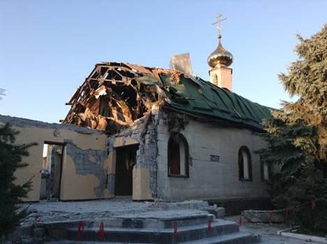 Украинские националисты захватывают православные храмы