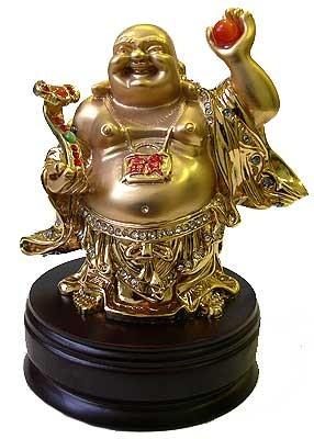 Статуэтка Хотей- символ богатства, статуэтка фен шуй