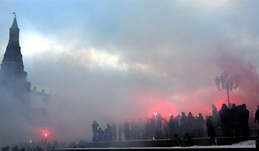 Беспорядки в Москве